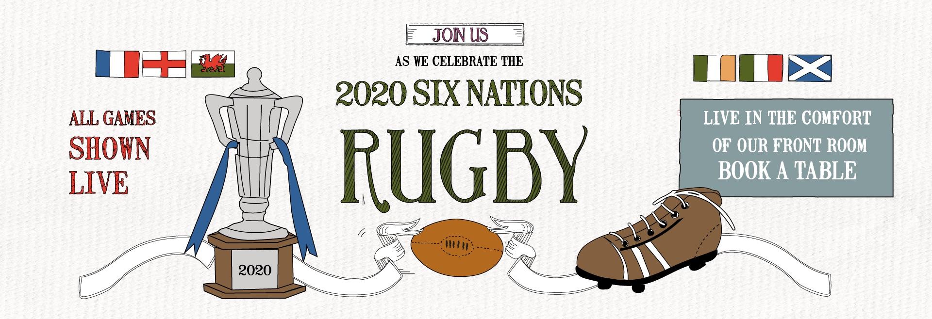 6 Nations Live at Hampstead