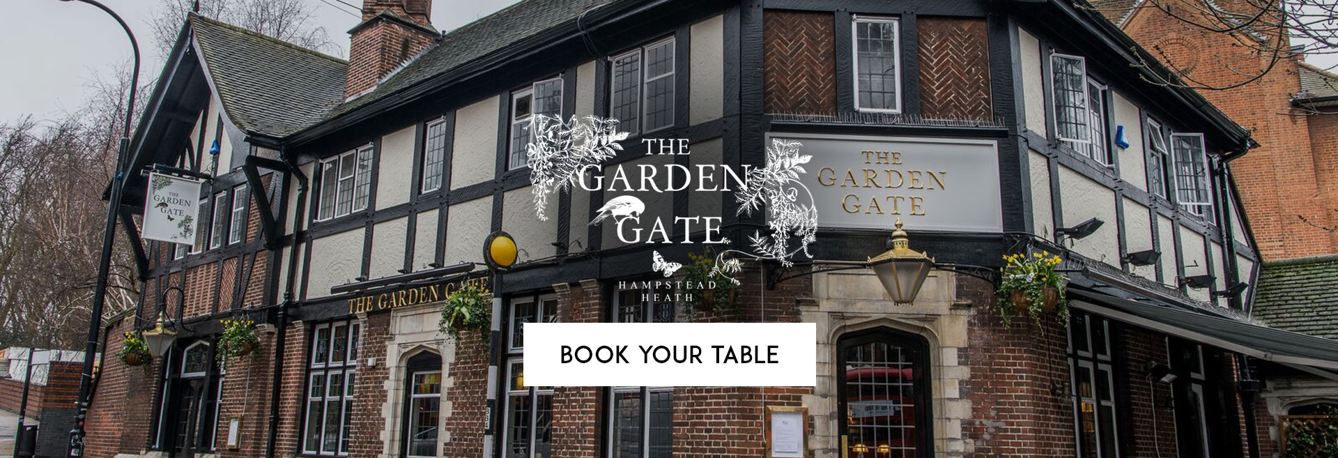 Book Your Table at The Garden Gate
